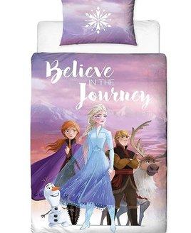Disney Frozen, Journey Bedding. Elsa, Anna, Olaf, Kristoff & Sven in full colour.