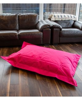 Pink bean bag lounger