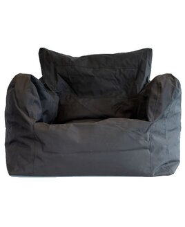 Large black waterproof bean chair