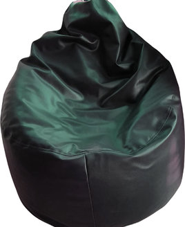 Extra Large Faux leather Adult Bean Bag Lounger Black