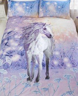 Magical Unicorn Sparkle And Shine Double Duvet