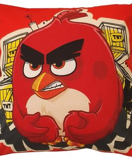 Angry Birds TNT Filled Cushion - Red