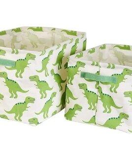 Dinosaur Roarsome Storage Boxes - Set of 2