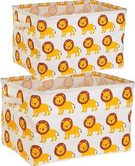 Safari Savannah Storage Boxes - Set of 2