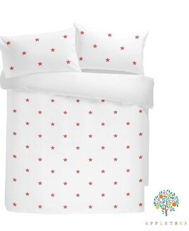 Tufted Star Single Bed Sets, Pink  - 100% Cotton