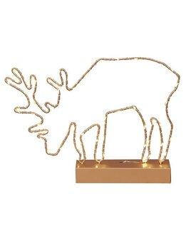 LED Grazing Deer Lighting - Gold