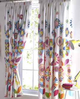 Candy Bloom Curtains 72s