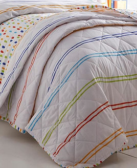 Doodle Quilted Throw - Bedspread