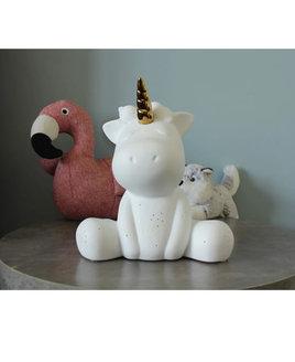 3D Ceramic Night Light - Unicorn