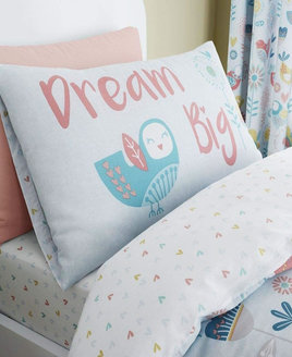 Birds and Floral Double Duvet -  from Catherine Lansfield.