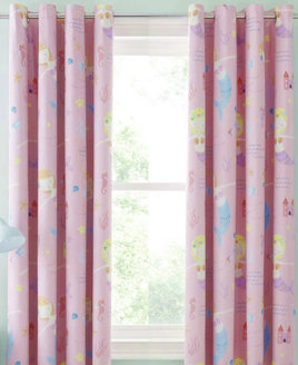 Catherine Lansfield Lets Be Mermaids, Kids Blackout Curtains Set 72s