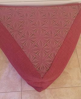 Samba triangle bean cube - Pink