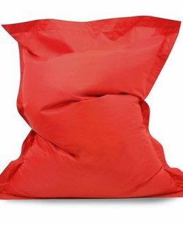 Red bean bag lounger