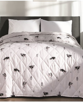 Cows Quilted Throw 200cm x 240cm