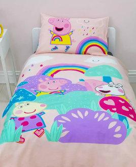 Peppa Pig My First Duvet Toddler Bedding Set Storm