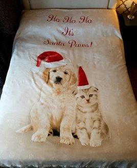 Santa Paws Christmas Double Duvet