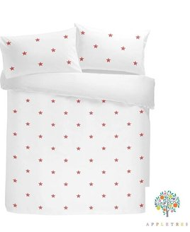 Tufted Star Double Bed Sets, Pink  - 100% Cotton