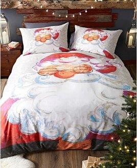 Santa, Christmas Double Themed Bedding