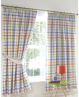 Doodle Curtains 72s