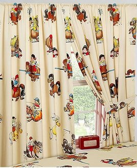 Thelwell, Novelty Horse Curtains 54s