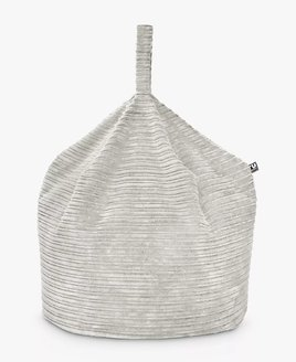 Jumbo Cord Adult Sized Bean Bag Beanbag - Cream