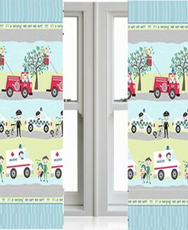 Emergency Vehicle Curtains 72s