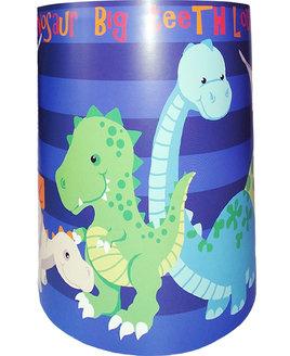 Dinosaur Light Shade - Blue Stripe