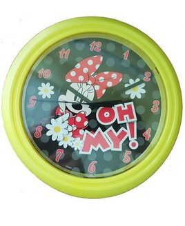Minnie Mouse Wall Clock - Oh My