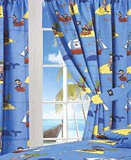 Treasure Island Curtains 72s