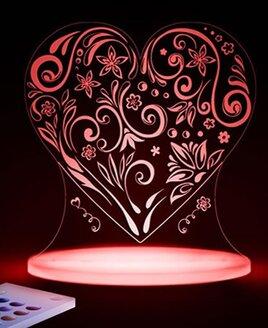 Love Heart Night Light