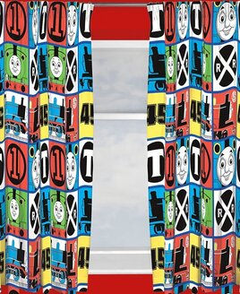 Thomas and Friends, Childrens Nursery Curtains - Team 54s