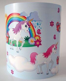 Magical Unicorns and Rainbows Light Shade