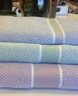 Eleanor James Seattle Bath Sheet - Mint