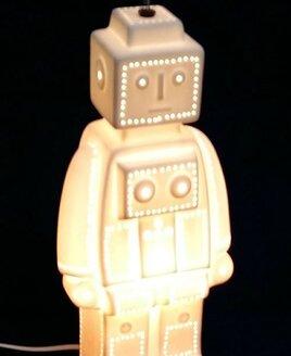 3D Ceramic Night Light - Robot