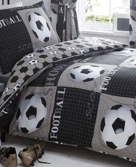Shoot, Football King Size Bedding