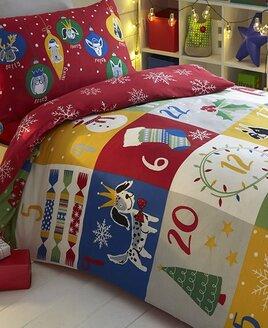 Christmas, Patch Advent Double Duvet