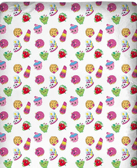 Shopkins Single Fitted Sheet - Trolley