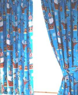 Sea Pirates Curtains