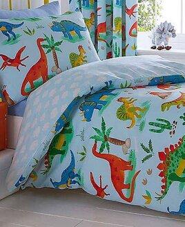 Dinosaur World Double Duvet Cover